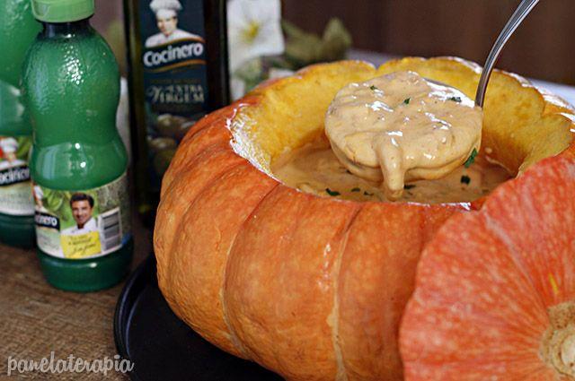 PANELATERAPIA - Blog de Culinária, Gastronomia e Receitas: Camarão na Moranga