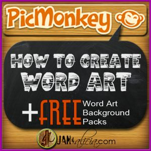 How to Create Word Art in PicMonkey We see a lot of Word Art (Inspirational quotes on catchy and fitting images) on Pinterest and other Social Media sites. The(...)