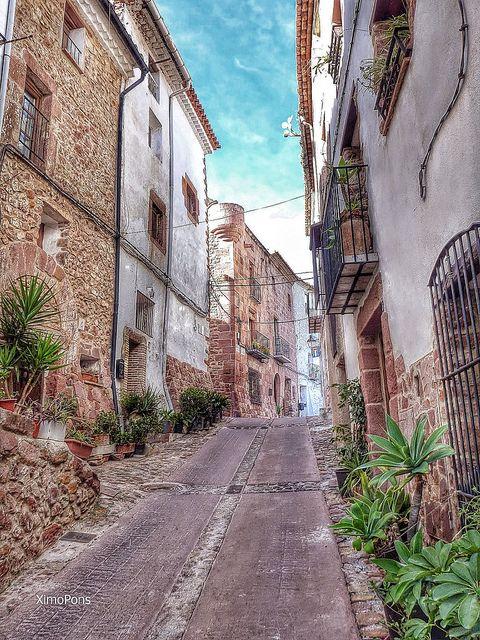 Vilafames ( Plana Alta ) Castello - Valencia, Spain