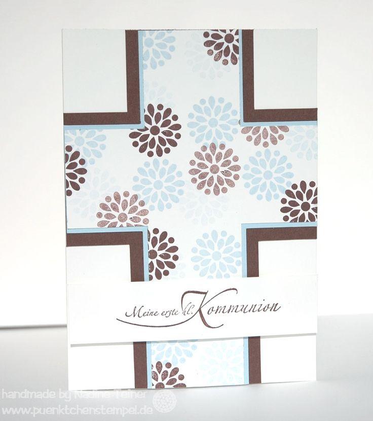 Kommunionskarte, Card, Stampin' Up!