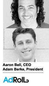 Two weeks ago, the San Francisco company raised $15 million in funding, bringing AdRoll's total amount of investment to $19 million.