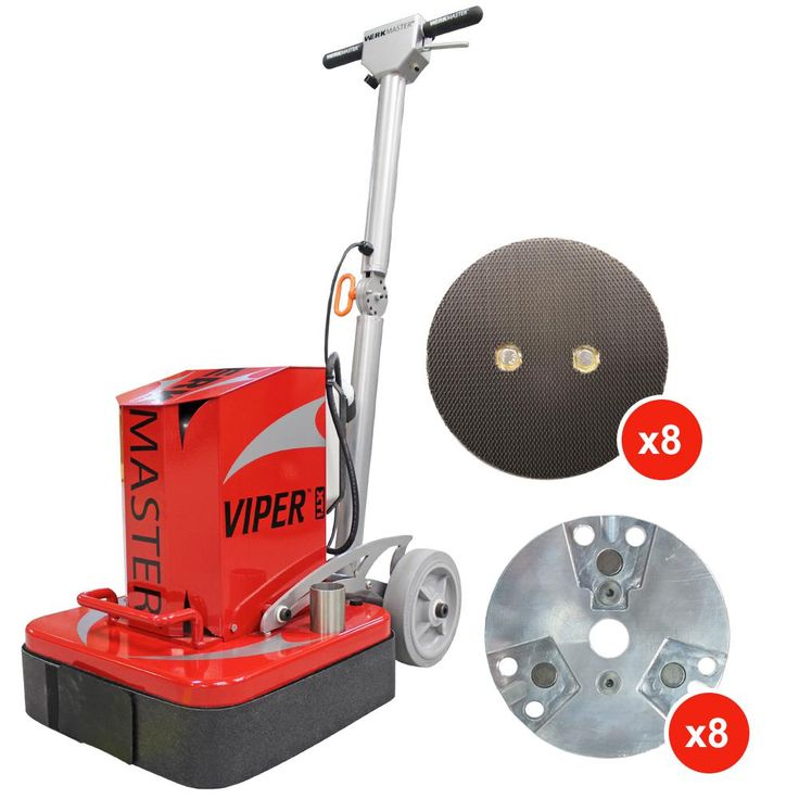 WerkMaster Viper XTi Concrete Grinder Polisher