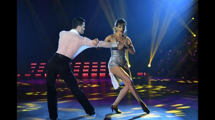 ¡Mariela Anchipi y Mauro Caiazza abrieron el Rock de salón en Bailando 2...