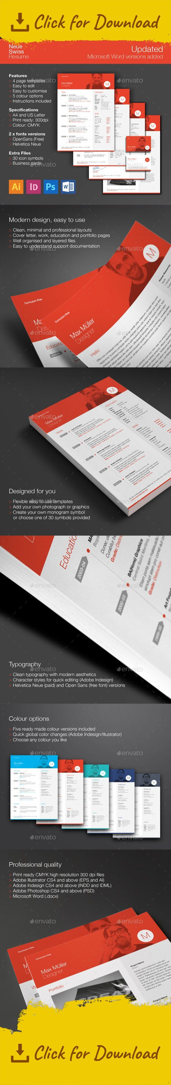 45 best Resumes images on Pinterest | Cv template, Design resume and ...