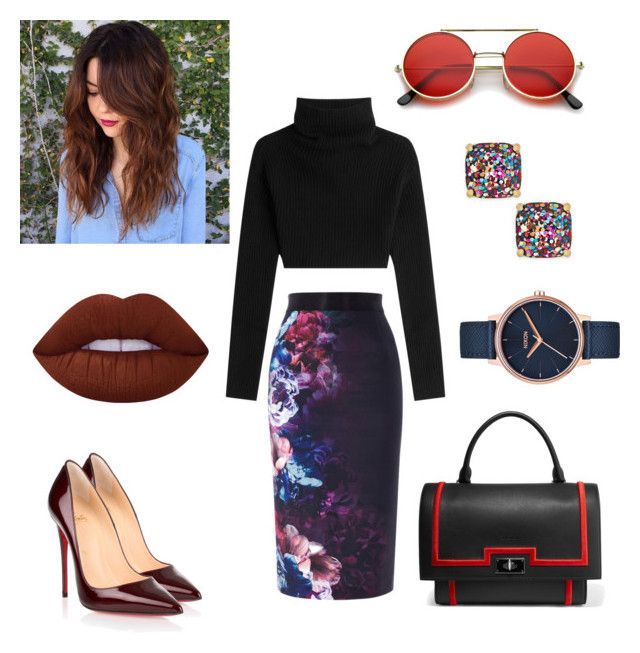 Teste 2 by sanderley-vitalino on Polyvore featuring polyvore, fashion, style, Valentino, Coast, Christian Louboutin, Givenchy, Kate Spade, Nixon, ZeroUV, Lime Crime and clothing