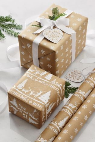 We can't promise we can wrap that well, but we can definitely help with the paper!