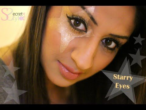 NYE Starry Eye Tutorial ♥ Style of Kate Moss