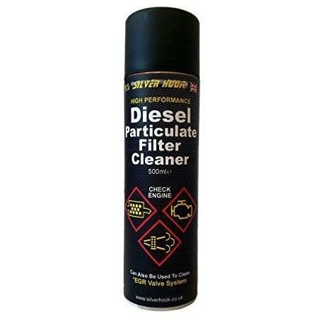 Silverhook SGDPF1 Diesel Particulate Filter Cleaner Spray, 500 ml - With Applicator Tube