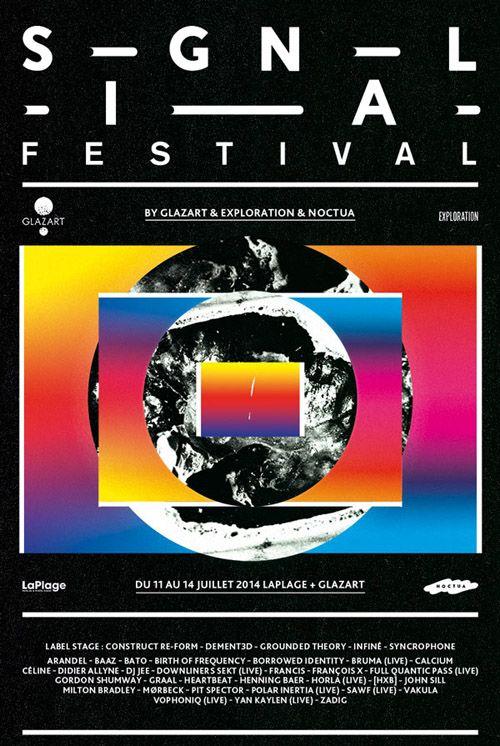 SIGNAL Festival : 4 jours de techno à La Plage du Glazart