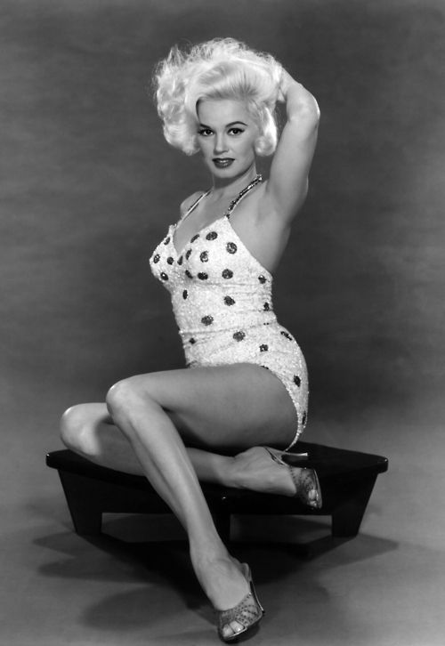Mamie VanDoren - hottie with a body (when beautiful women actually had curves) 1950's style.