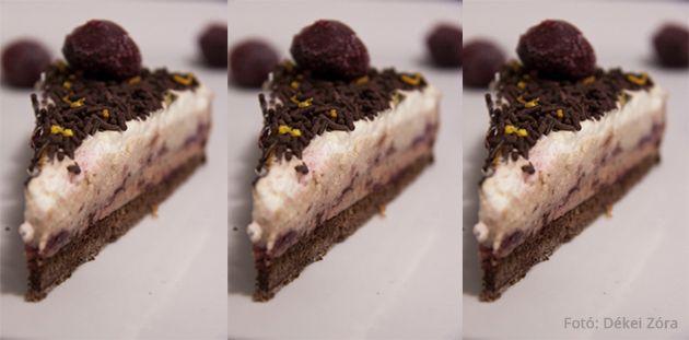 Gesztenyés-gluténmentes torta CH: ~ 27,3 g/ szelet