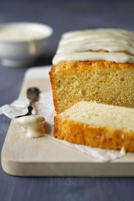Meyer Lemon Cake with Cream Cheese Icing
