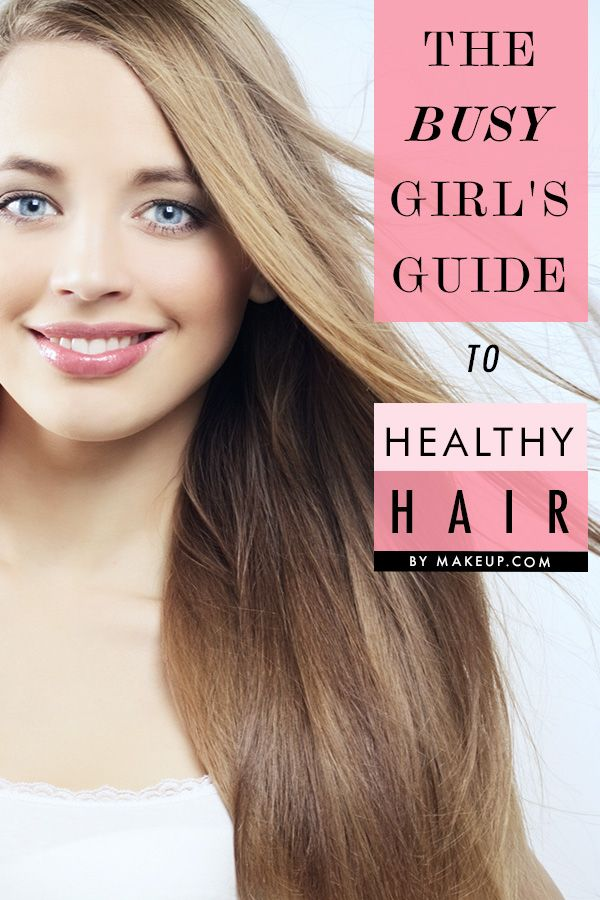 The Busy Girl's Guide to Healthy Hair // amazing time-saving tips