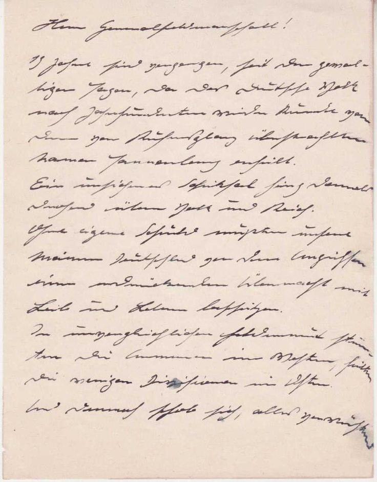 Ghost handwriting analysis