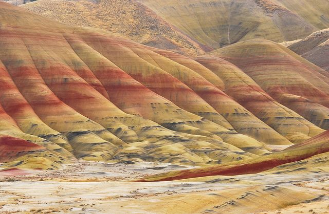 Painted Hills (Even Closer) by Vijay Gunda, via Flickr