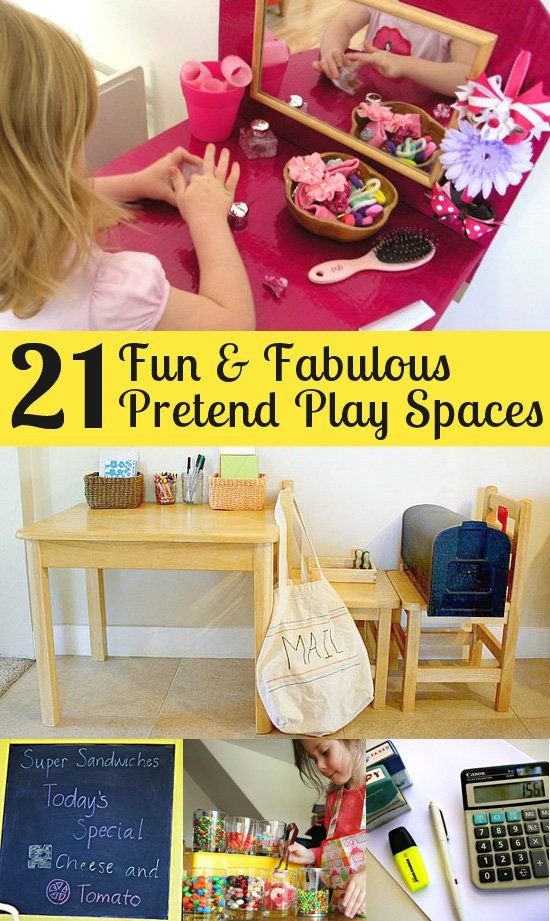 21 Fun Fabulous Pretend Play Spaces for Imaginative Kids | Childhood101
