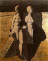Dos figuras by Armando Morales