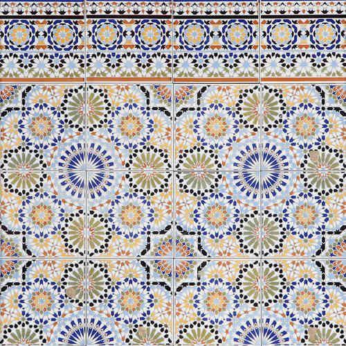 Orientalische Tapeten Bord?re : ?ber 1.000 Ideen zu ?Bord?re Fliesen auf Pinterest Keramag