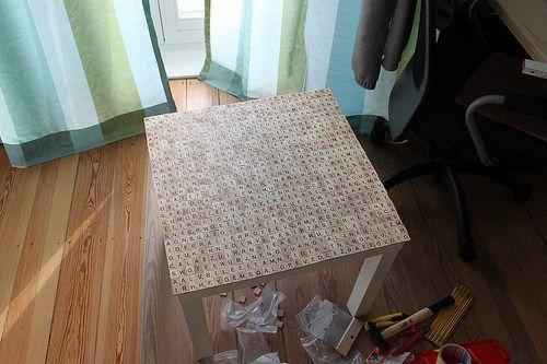 ikea hack lack scrabble tisch ikea anders tisch m bel und rund ums haus. Black Bedroom Furniture Sets. Home Design Ideas