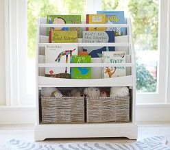 Love this bookshelf for a reading corner | Kids' Furniture Bookcases and Storage Bookcases | Pottery Barn Kids