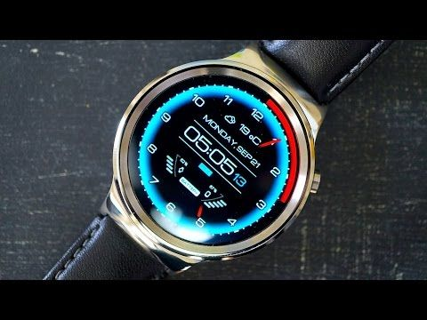 Huawei Watch Review: Sharp Style at a Princely Price - YouTube
