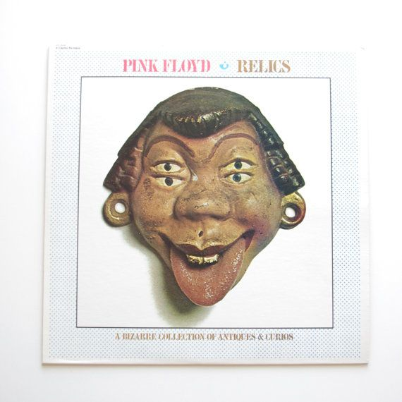 Pink Floyd  Relics Vinyl Record  1971  by ThisCharmingManCave, $30.00