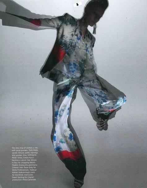 ETRO as featured in Harpers Bazaar USA - February 2013