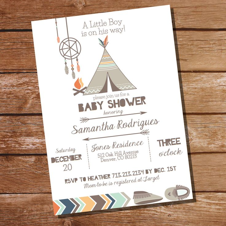 Tribal Baby Shower Party Invitation - Tribal Invitation - Boy Baby Shower Invitation - Instant Download and Edit at home with Adobe Reader by SunshineParties on Etsy https://www.etsy.com/listing/220057966/tribal-baby-shower-party-invitation