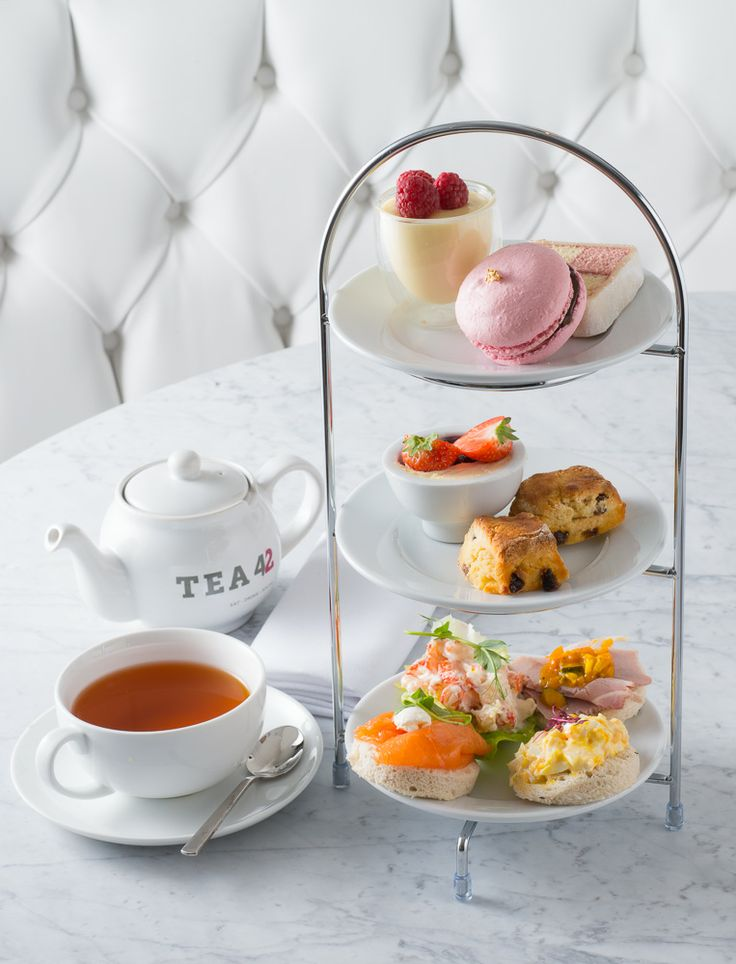 Afternoon Tea with a Free Glass of Champagne at Tea 42. £18.95 per person - AfternoonTea.co.uk