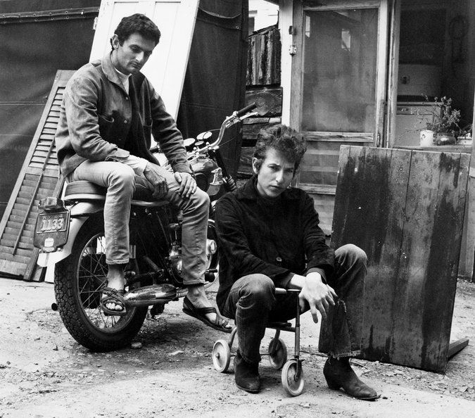A Dylan Insider's Back Pages - NYTimes.com Victor Maymudes and Bob Dylan in 1964 in Woodstock, N. Y.