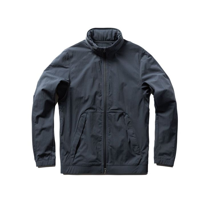 Reigning Champ Steel Stow Away Hood Jacket