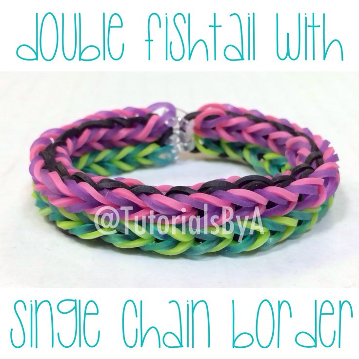 fishtail loom band instructions
