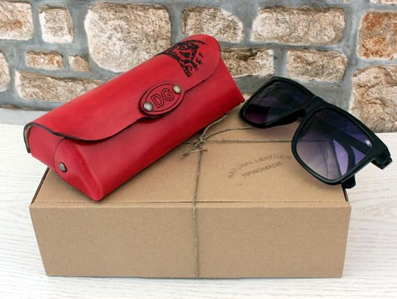 Personalized Sunglasses Glasses Case Sailing Firefighter