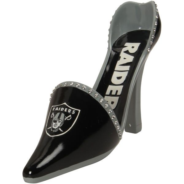 Oakland Raiders High Heel Shoe Bottle Holder - Black - $39.99