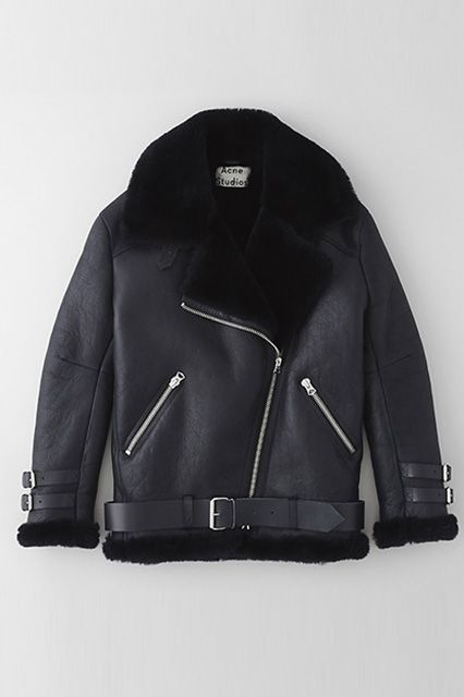 17 Awesome Leather JacketsMeant For The Cold #refinery29  http://www.refinery29.com/warm-leather-jackets#slide4