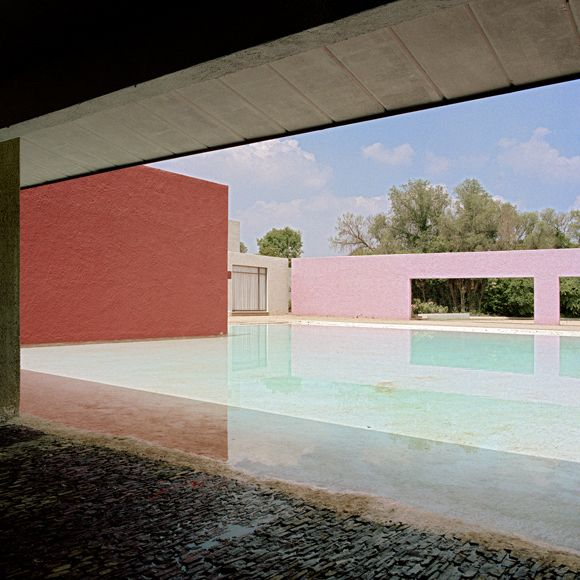 Luis Barragan, Cuadra S. Cristobal, Mexico City by Kim Zwarts