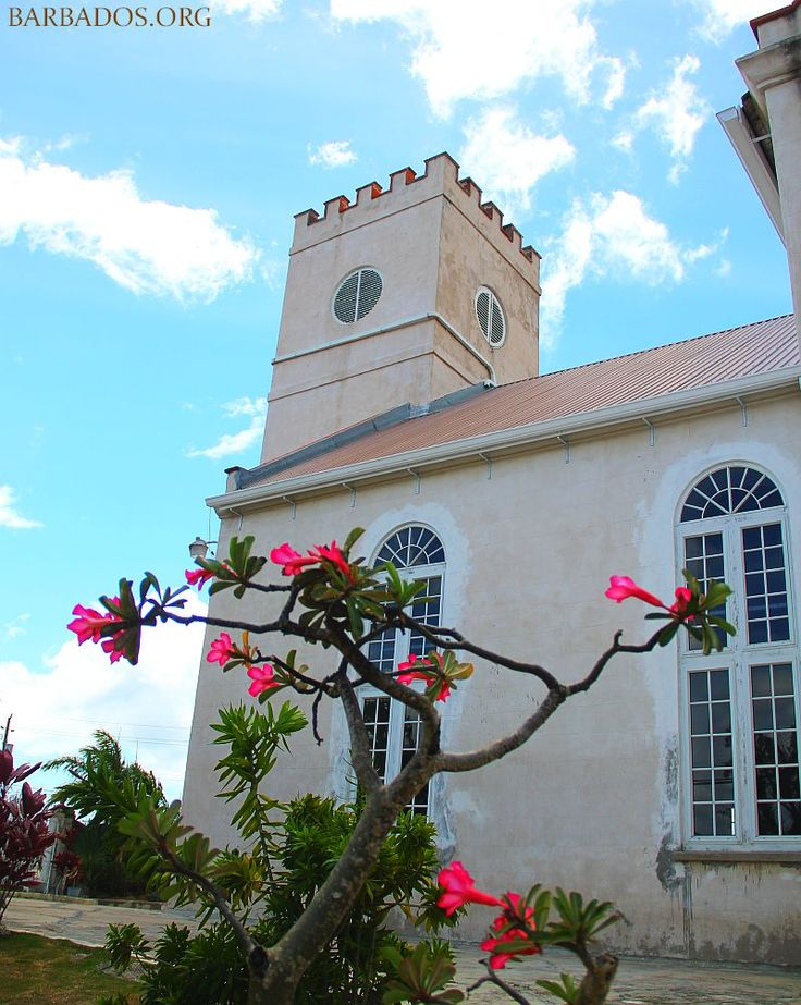 St.Thomas Parish Church, #Barbados. Built in 1836.