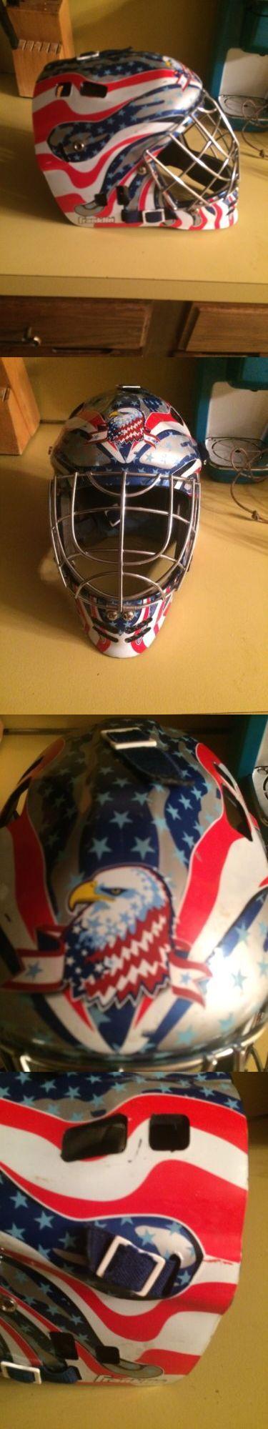 Face Masks 79762: Street Hockey Goalie Helmet BUY IT NOW ONLY: $40.0