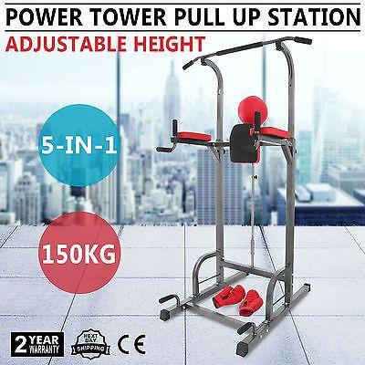 Ebay Fitness Geräte 5In1 Chin Up Pull Up Turnreck Fitnessgerät Trainingsgerät Power Tower SportgerätIhr QuickBerater