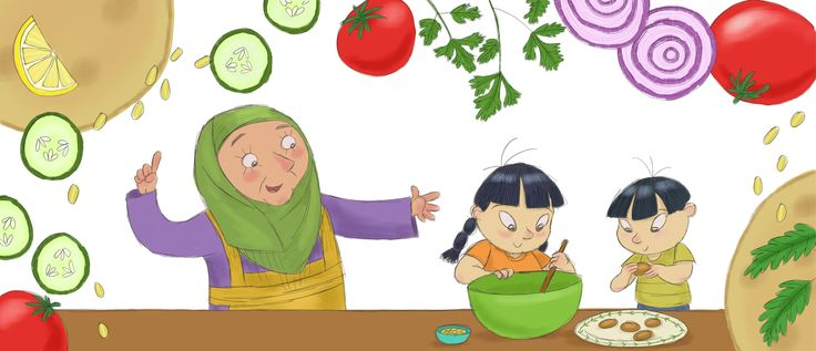No More Beige Food is a great little story about a brother and sister who branch out into the world of exciting and flavoursome foods!