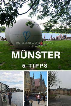 Du möchtest Münster an einem Wochenende mit oder ohne Kindern entdecken? Diese Tipps verraten dir wo du unbedingt hin solltest!