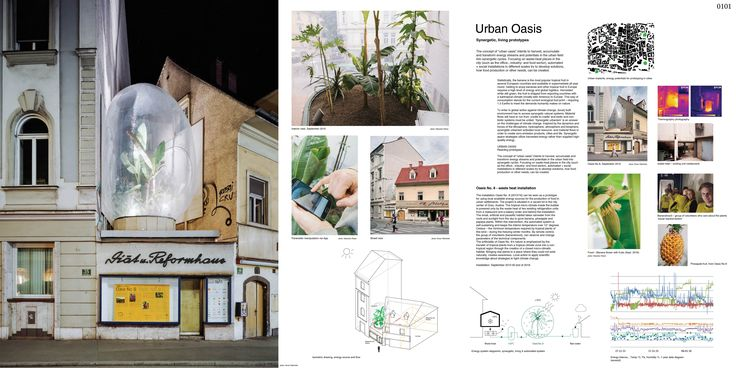 """3RD PRIZE: project no. 0101 """"URBAN OASIS / Synergetic, living prototypes"""" Markus Jeschaunig (Artist, Architect / Agency in the Biosphere), AUSTRIA"""