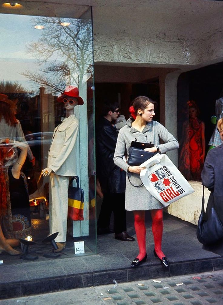 King's Road, Chelsea (UK). Photo by Nigel Robinson, 1968.