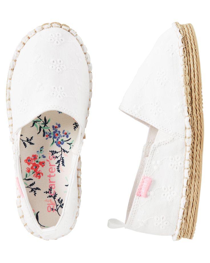 Baby Girl Carter's Slip-On Espadrilles | Carters.com
