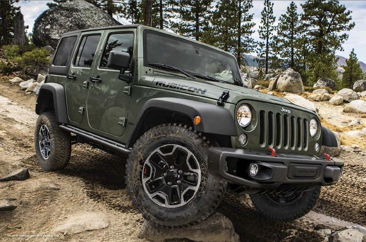 2015 Jeep Wrangler Rubicon Unlimited In Tank Trucks