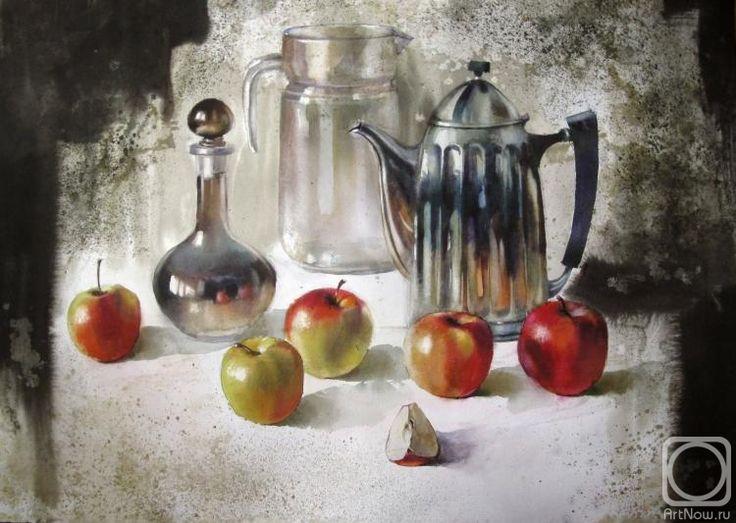 Карпан Александр. Весенние яблоки