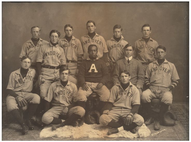 E.V.N. Hitchcock Studio, Phillips Academy Baseball Team, late 19th century.