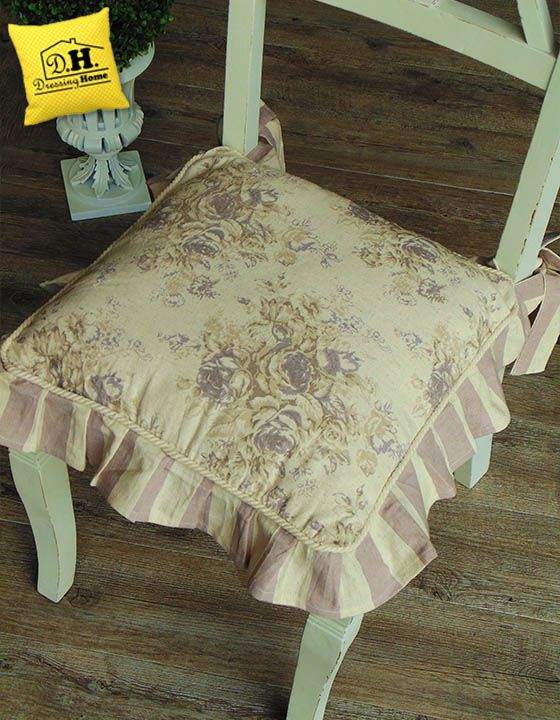 46 best Cuscini per Sedia Shabby & Country Chic images on Pinterest