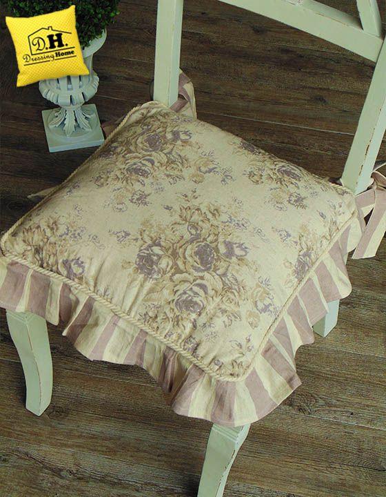 17 migliori immagini su cuscini per sedia shabby country for Cuscini x sedia