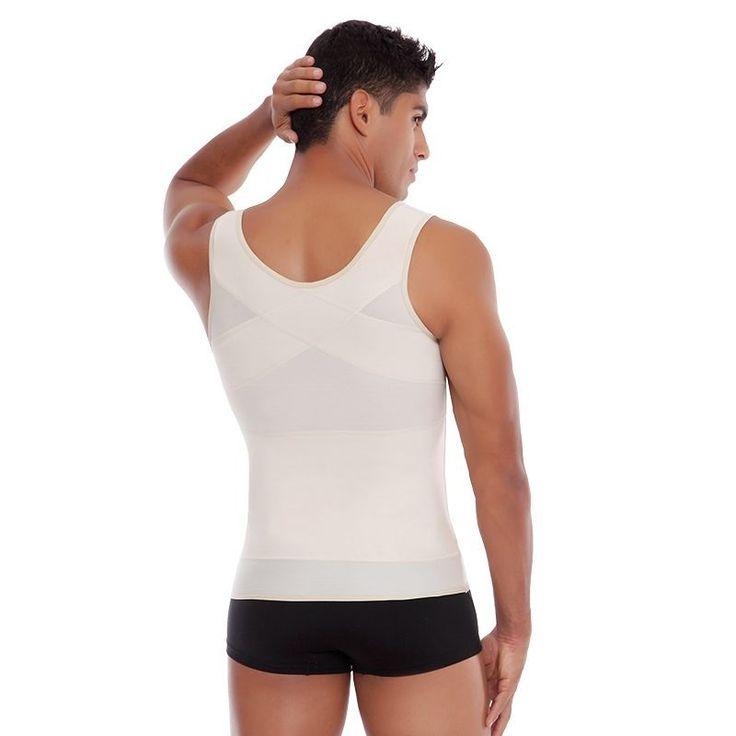 Shapewear For Men Faja Para Hombre Camisa Reductora- Abdomen Control Undershirt